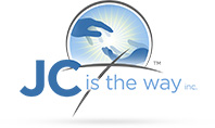 JC is the way logo